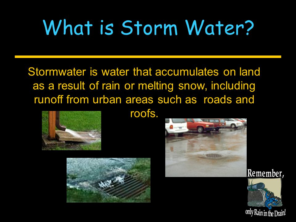 Remember what we do at home affects our rivers and lakes!