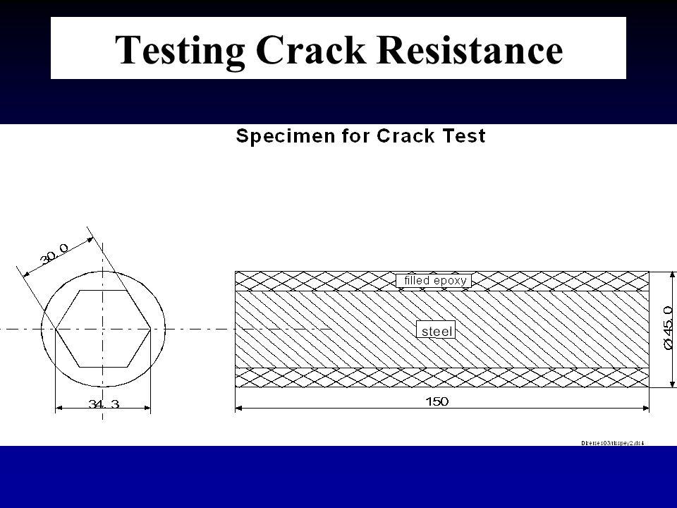 Testing Crack Resistance