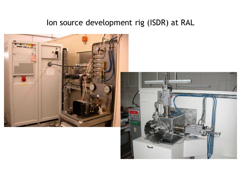Ion source development rig (ISDR) at RAL