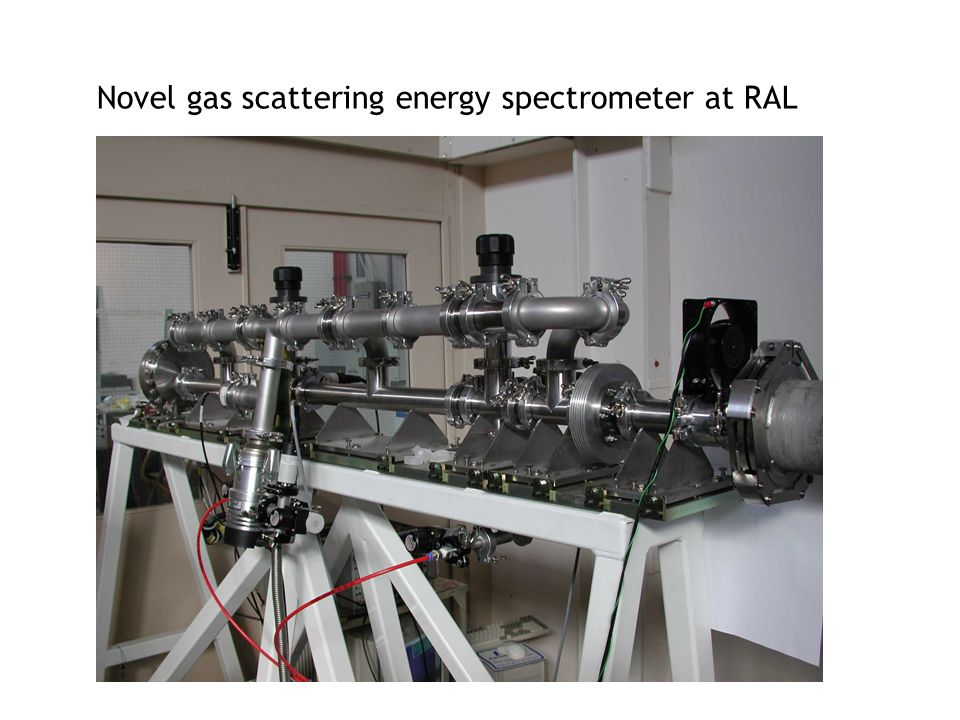 Novel gas scattering energy spectrometer at RAL