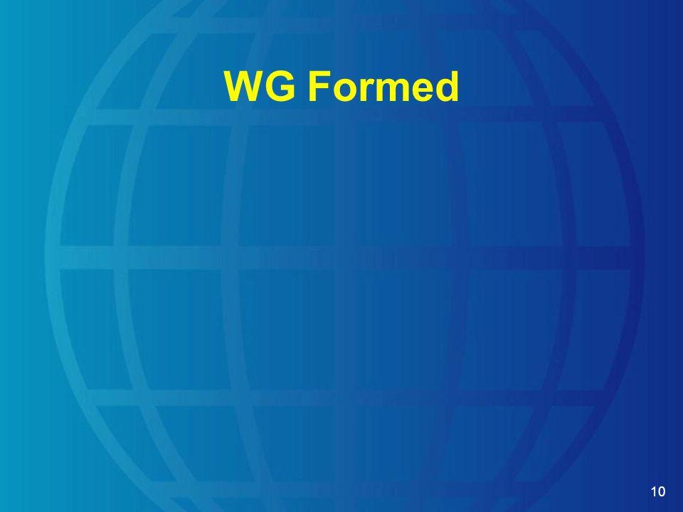 10 WG Formed
