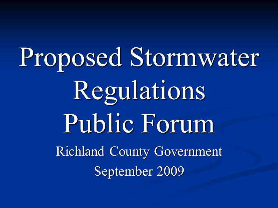 Ordinance Changes Stormwater Regulations & Yard Debris 87 pages of Stormwater regulations 2 Pages of Yard Debris Concern over 2 elements Buffers Leaf bagging