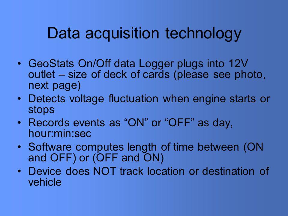 GeoStats sensor & Y-cable
