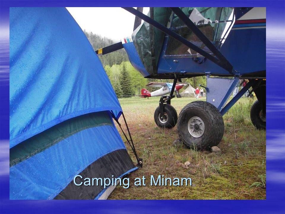 Camping at Minam