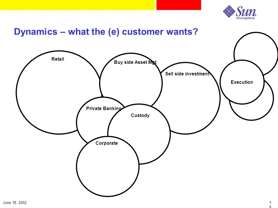 1818 June 18, 2002 Dynamics – what the (e) customer wants.