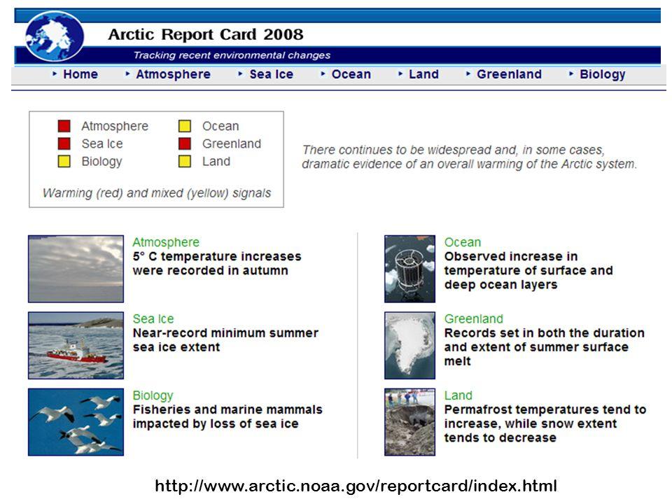 http://www.arctic.noaa.gov/reportcard/index.html