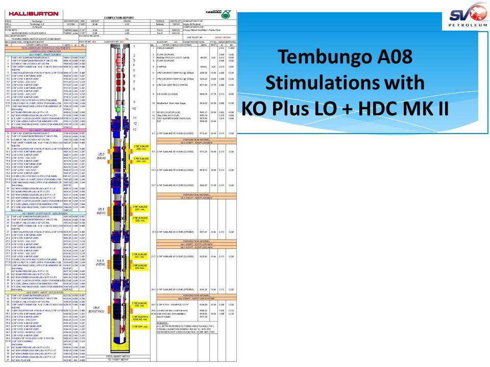 WOG1 Case History Baronia 23, SKO, PCSB 1.Shut off Zone is RM 3.2, depth 6855 – 6889 ft.