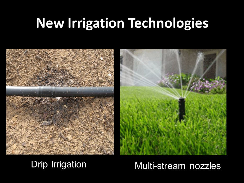 New Irrigation Technologies Drip Irrigation Multi-stream nozzles