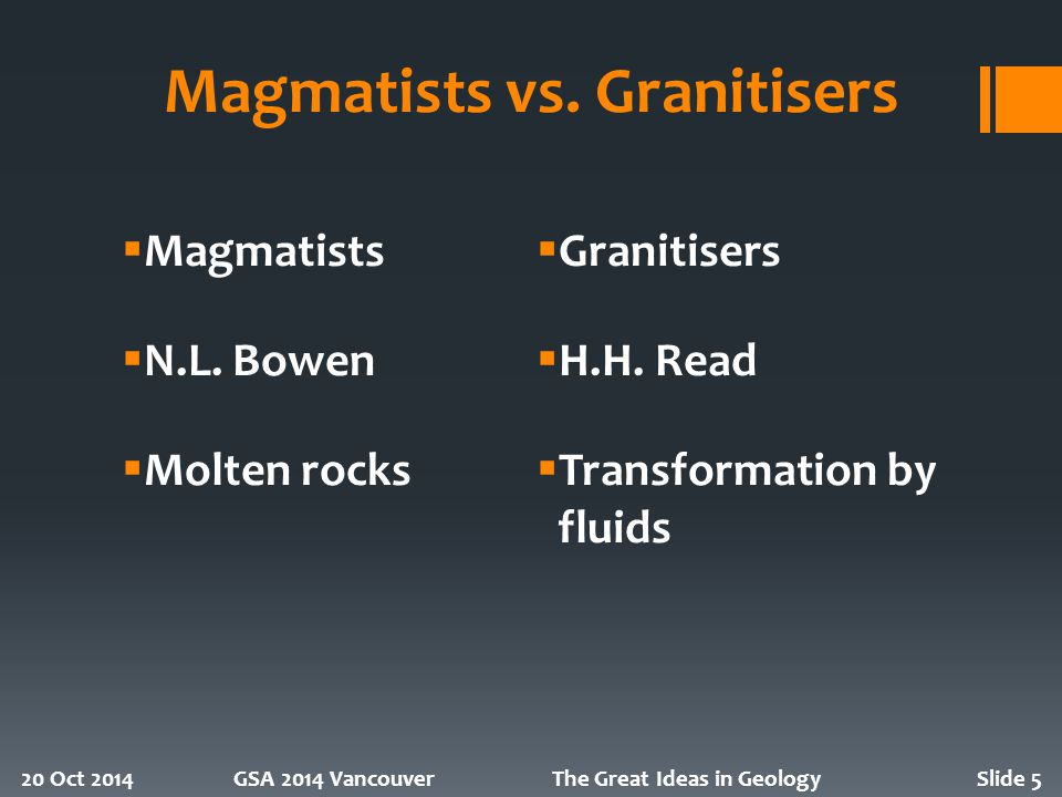 Magmatists vs.
