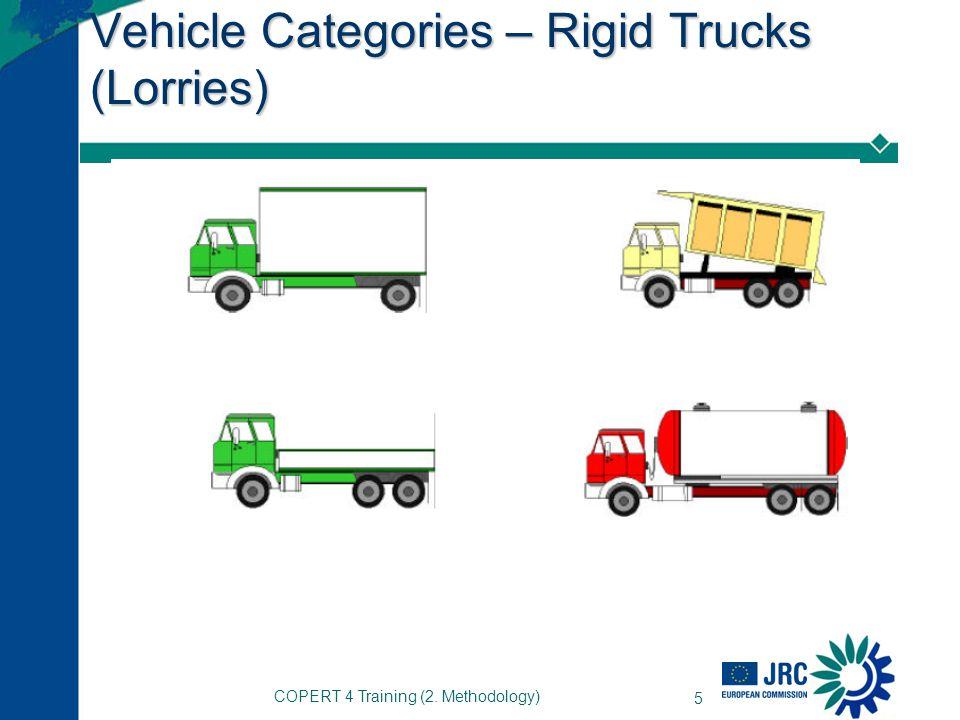COPERT 4 Training (2. Methodology) 5 Vehicle Categories – Rigid Trucks (Lorries)