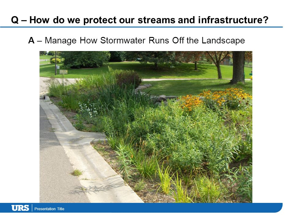 Presentation Title Q – How do we protect our streams and infrastructure.