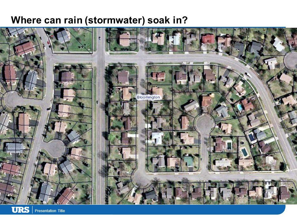 Presentation Title BASIX water targets across NSW