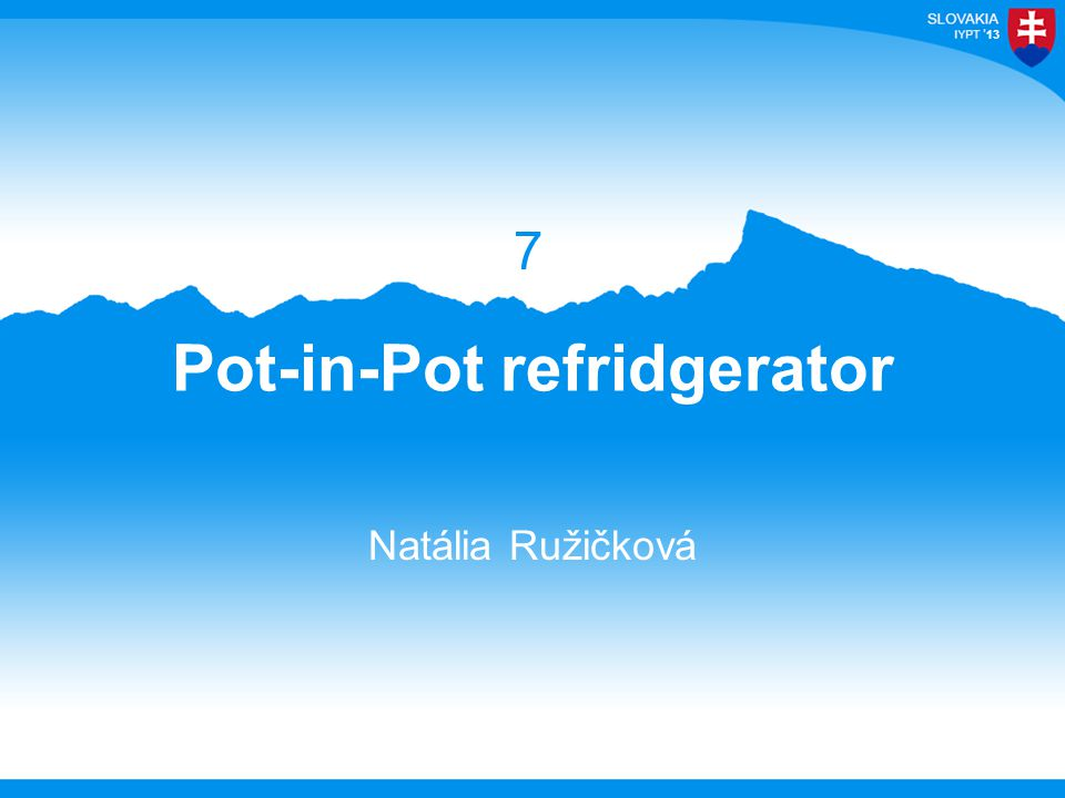 13 Pot-in-Pot refridgerator Natália Ružičková 7
