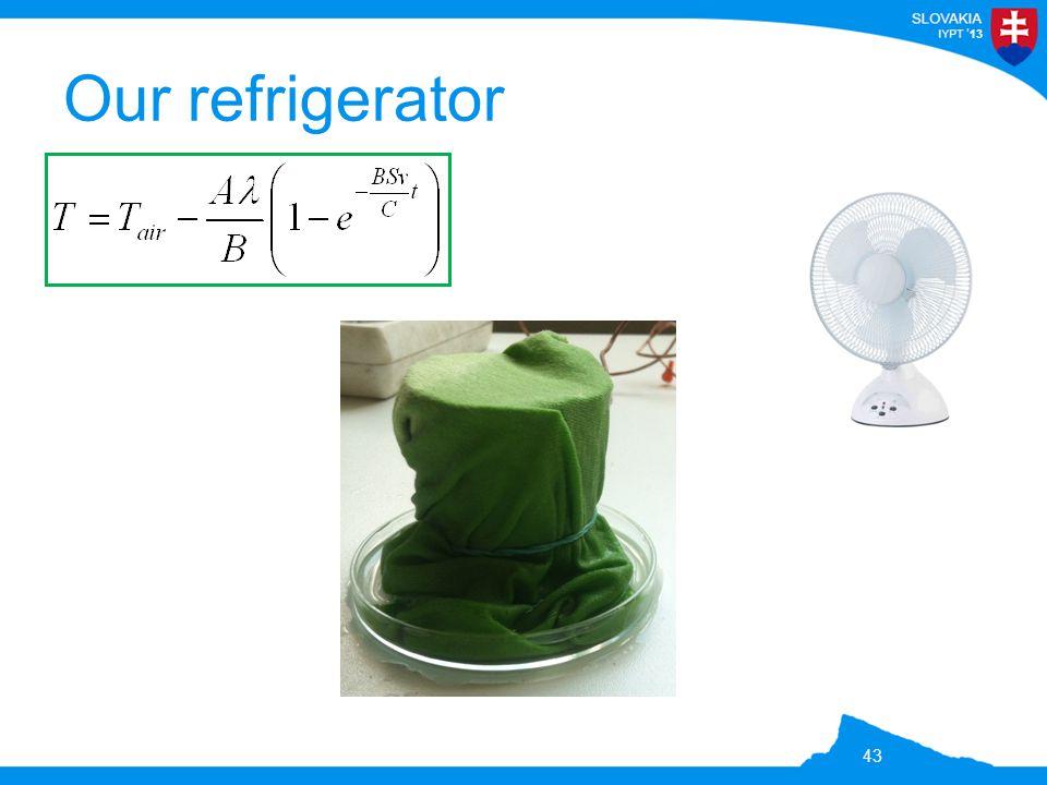 13 Our refrigerator 43