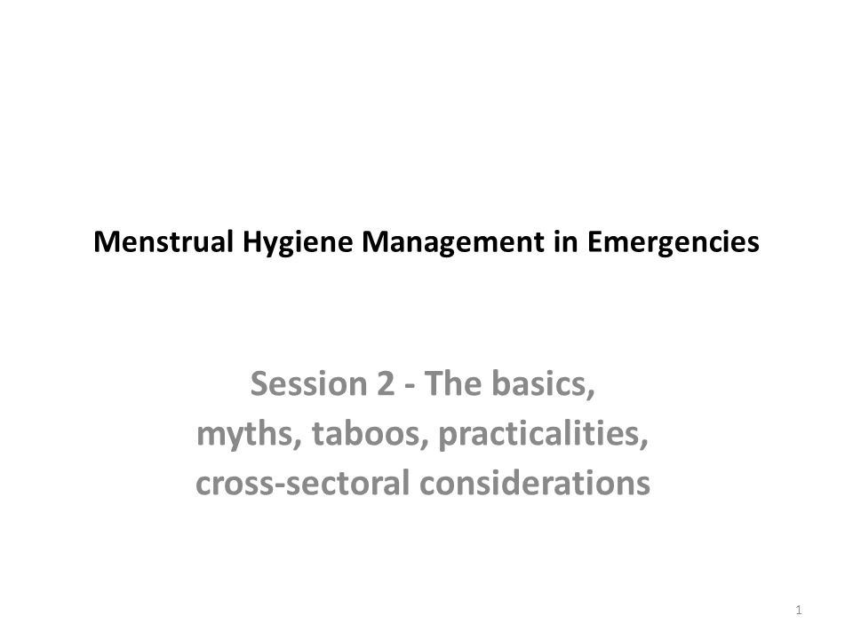 Health and 'menstruation' Pre-menstrual syndrome (PMS) Heavy and prolonged bleeding (Menorrhagia) Pain, back aches, abdominal pains, cramps (Dysmenorrhoea) Risk of transmitting HIV, HepB etc increases during sexual intercourse during menses (woman to man) Risk of Bacterial Vaginosis and Trichomonas Vaginalis can increase during menses 12 Health & MH MHM - M&T 1 Pp: 32-37 Pp: 227-236