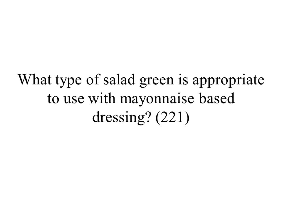 What is an intermezzo salad.