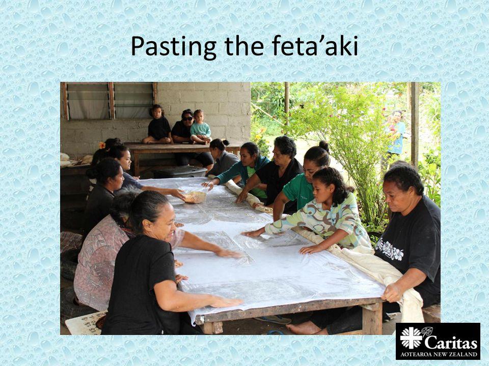 Pasting the feta'aki