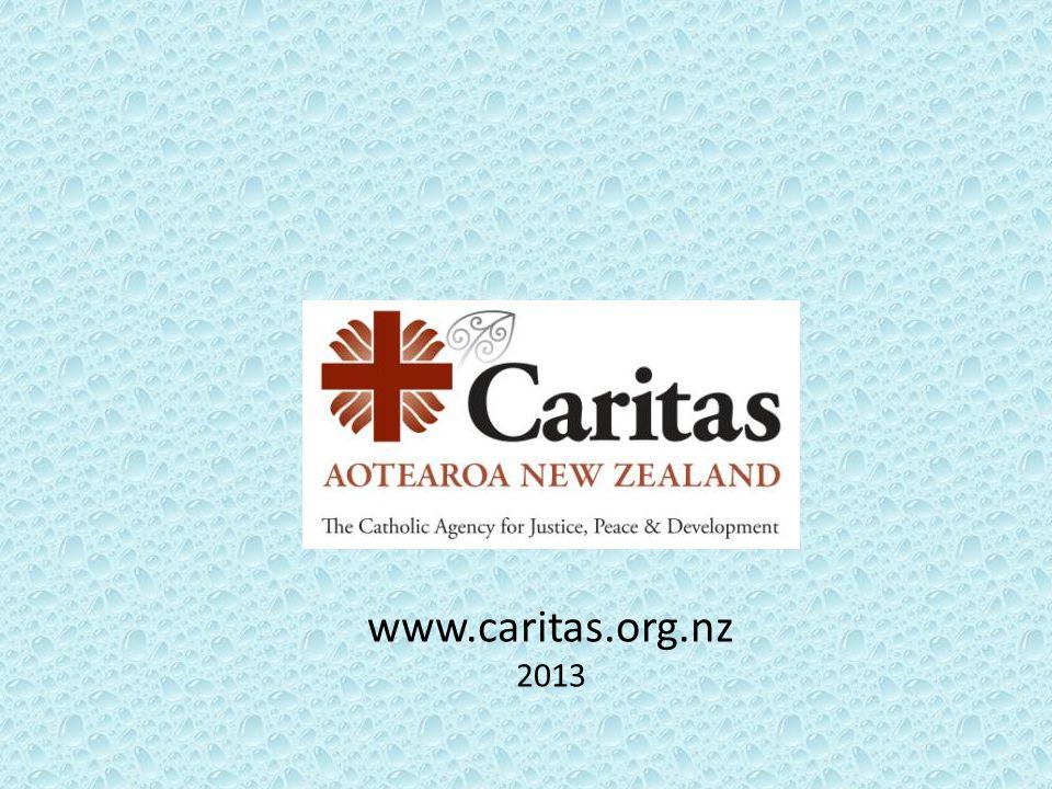 www.caritas.org.nz 2013