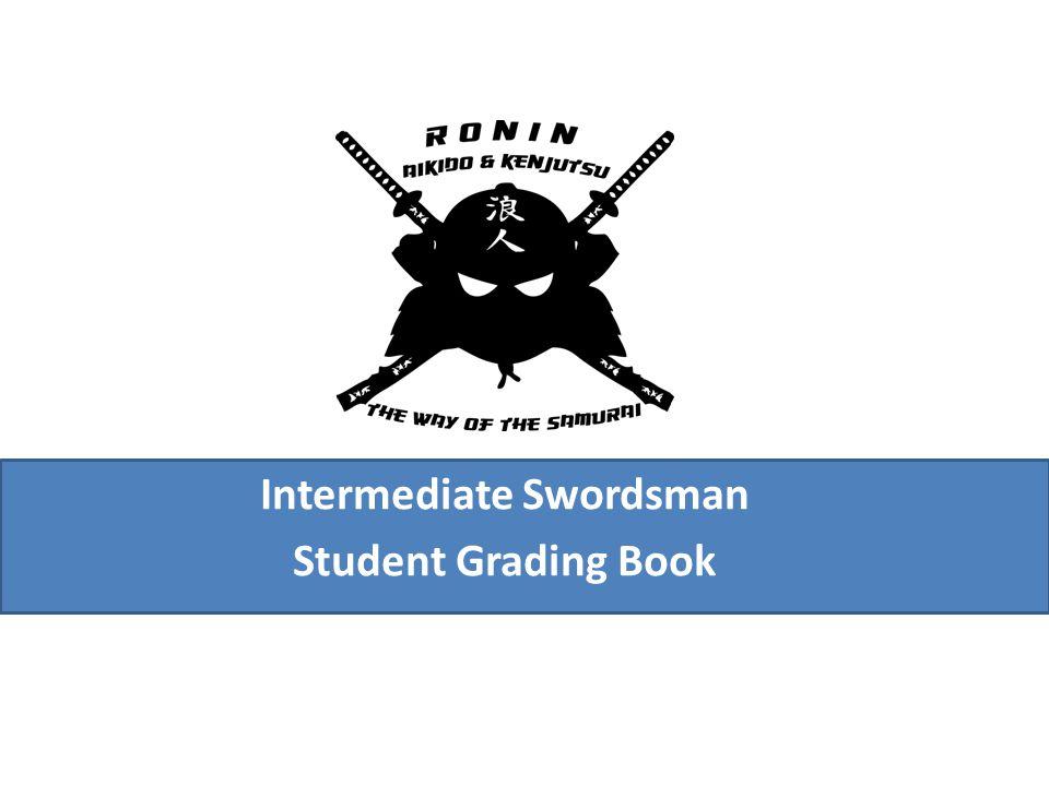 Intermediate Swordsman Student Grading Book