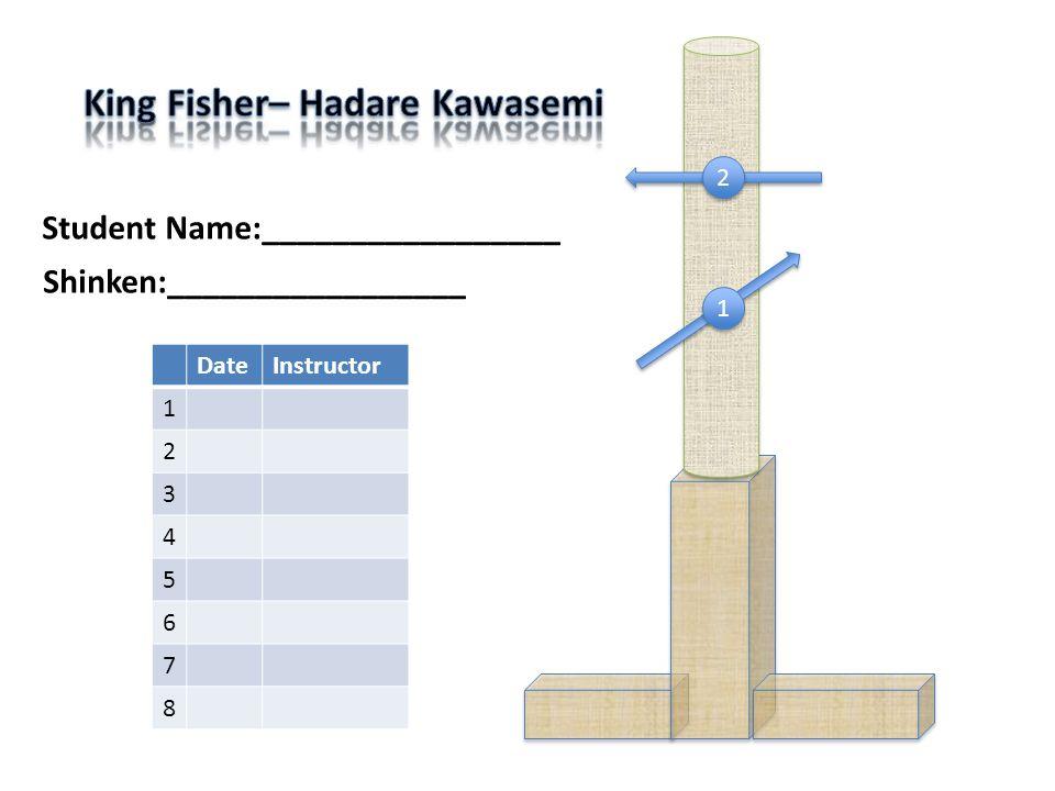 1 1 2 2 Student Name:_________________ DateInstructor 1 2 3 4 5 6 7 8 Shinken:_________________