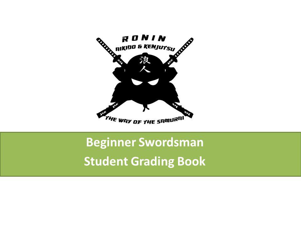 Beginner Swordsman Student Grading Book