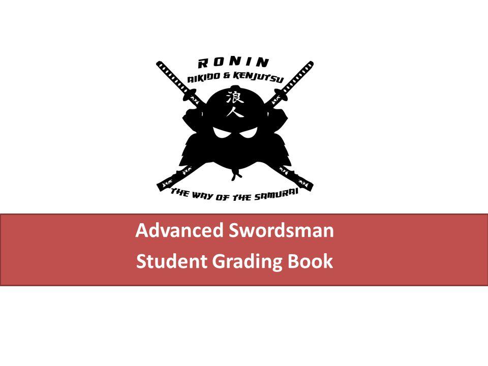 Advanced Swordsman Student Grading Book