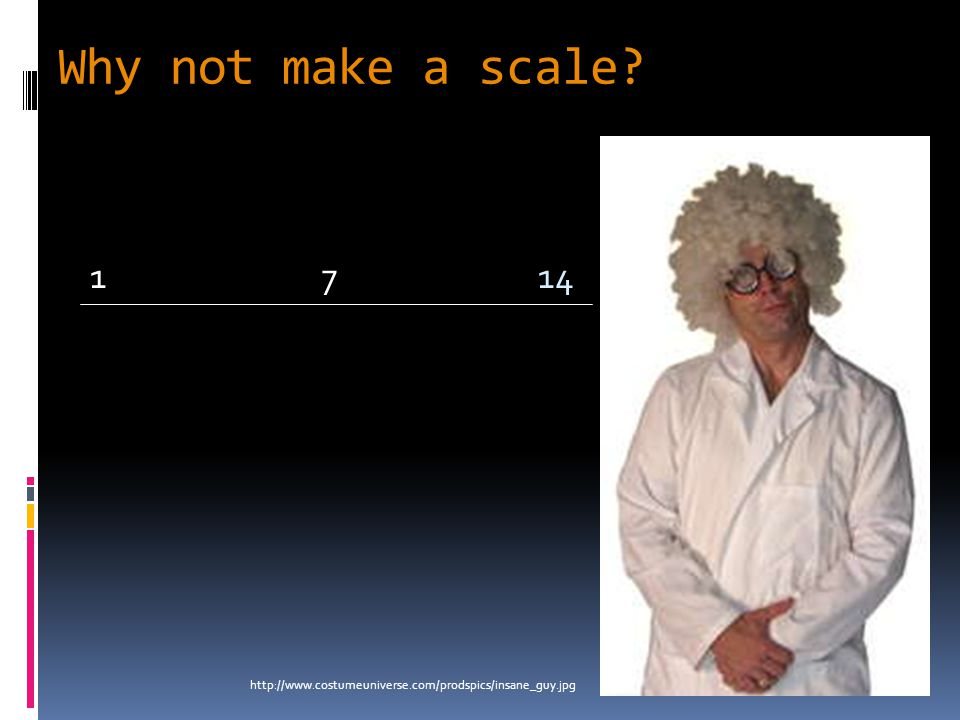 Why not make a scale? http://www.costumeuniverse.com/prodspics/insane_guy.jpg 1147