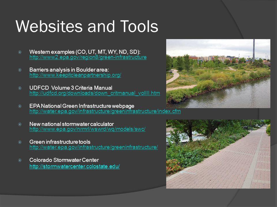 UWP Green Infrastructure Projects Using EPA Funding  DHA GI design charette  Westerly Creek GI design  ULC GI design for 38 th & Blake  S.