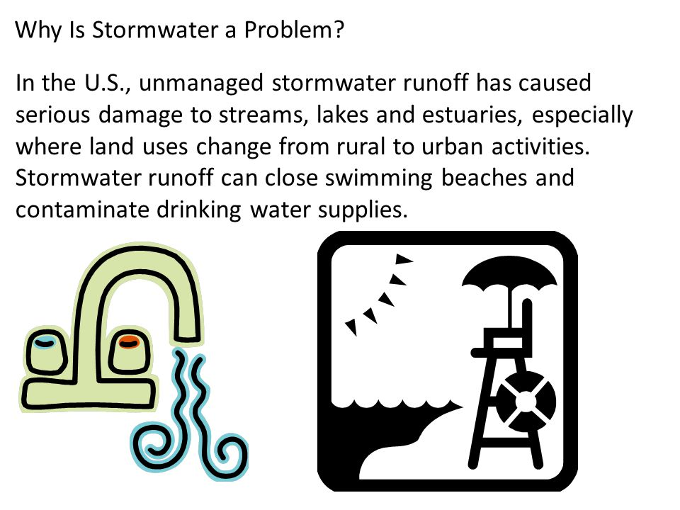 Why Is Stormwater a Problem.