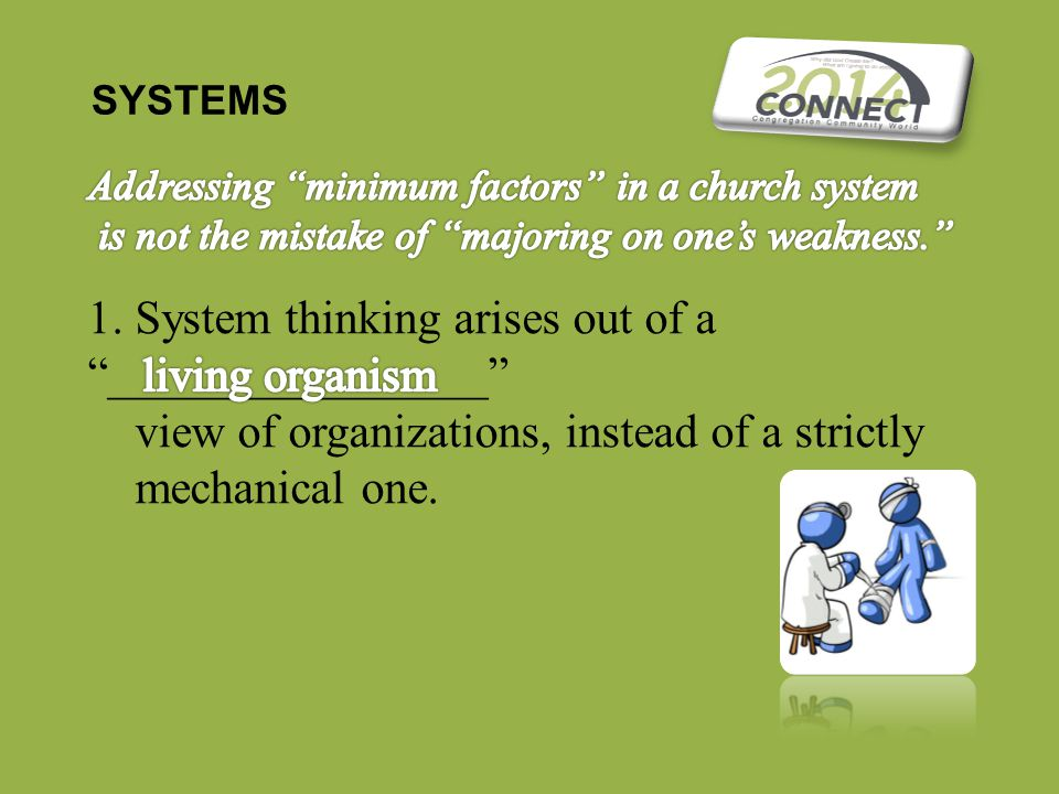 SYSTEMS 1.