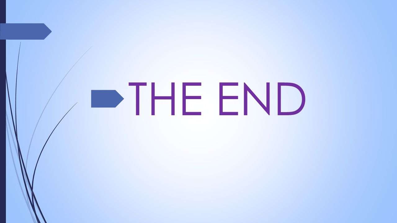  THE END