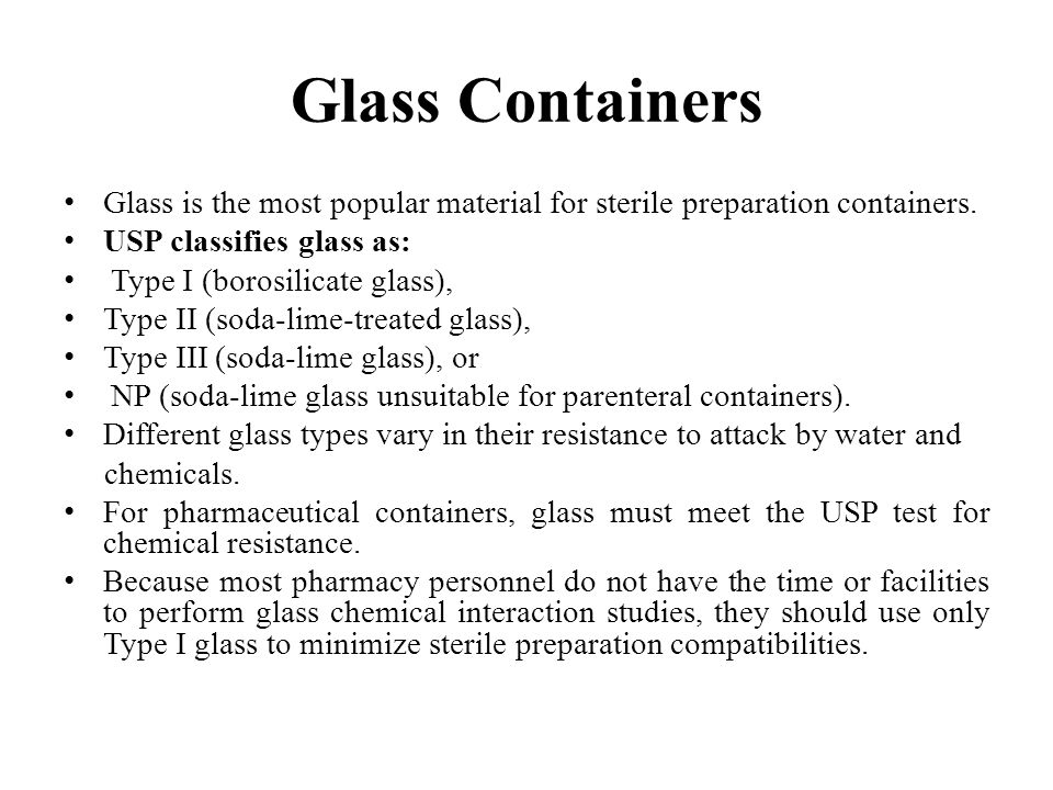 Glass containers received in cardboard and chipboard boxes contain dust generated by these packaging materials.