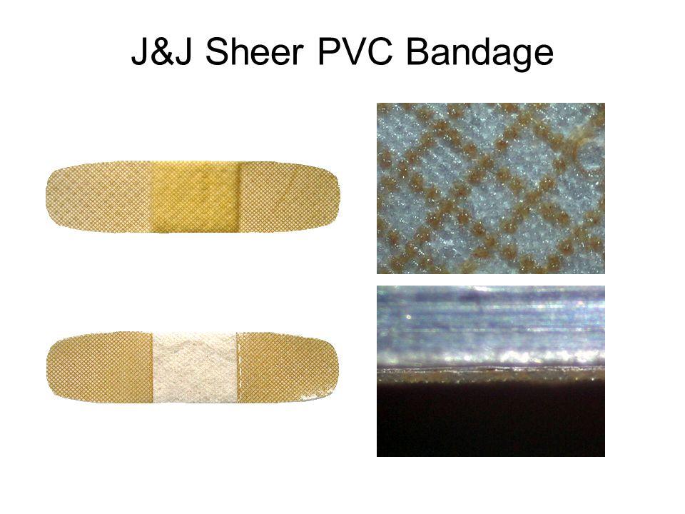 J&J Sheer PVC Bandage