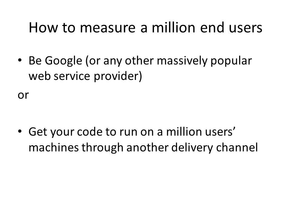 Is Google's P-DNS a Factor?