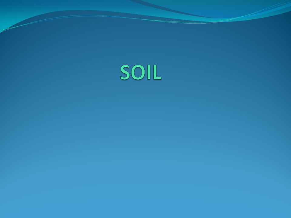Soil Facts Soil is living.There are more than 70,000 types of soil in the United States.