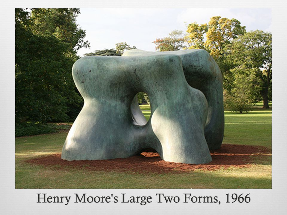 Henry Moore s Large Two Forms, 1966Henry Moore s Large Two Forms, 1966