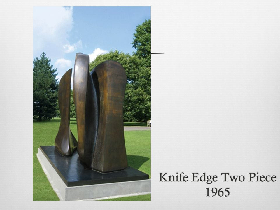 Knife Edge Two Piece 1965