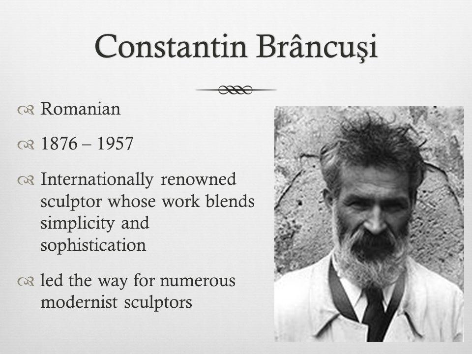 Brancusi's Studio and Tools