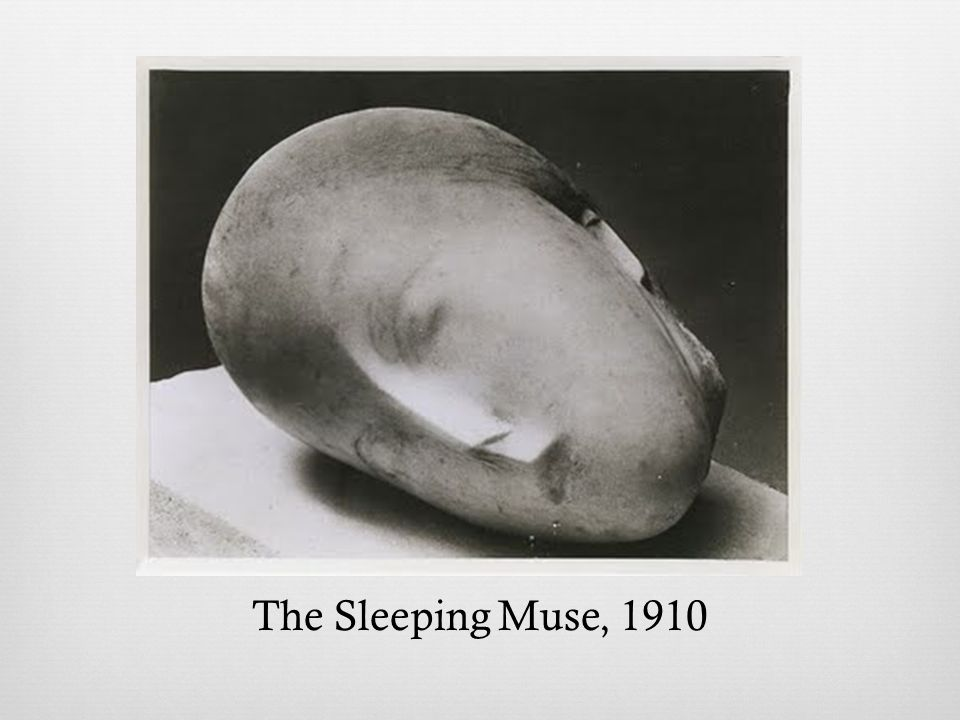 The Sleeping Muse, 1910