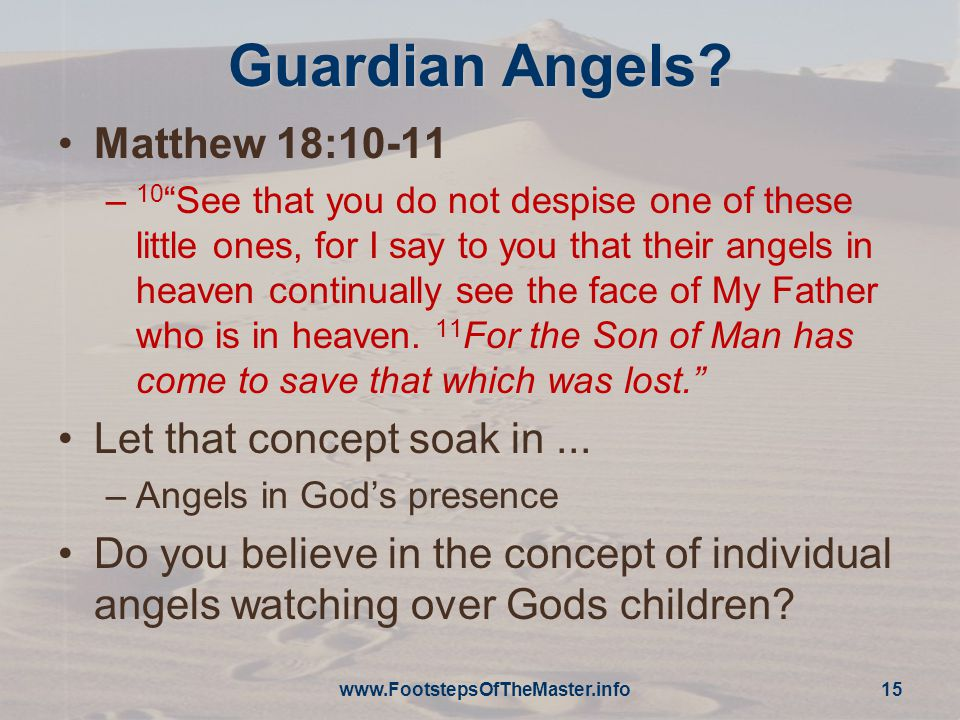 Guardian Angels.