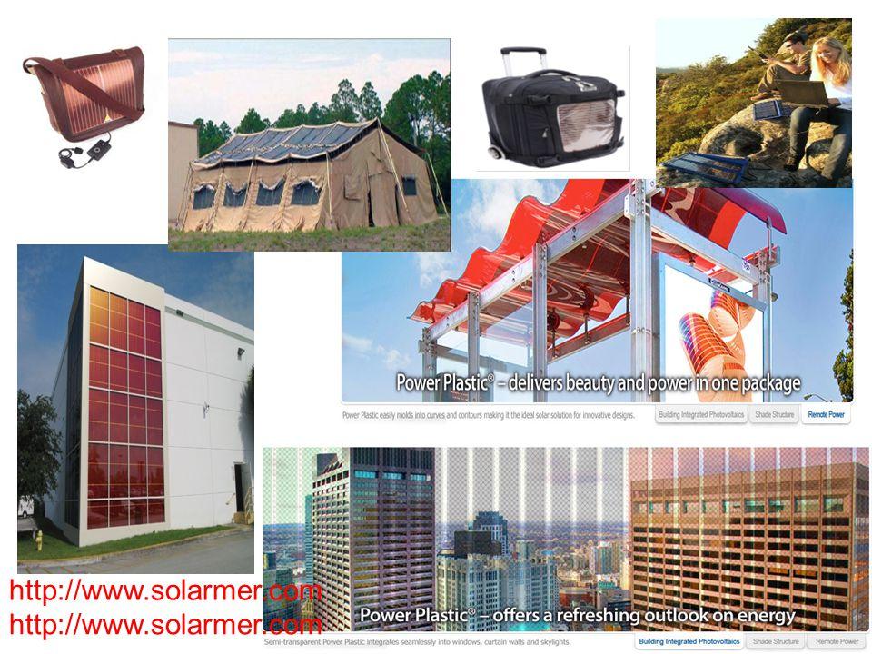Organic bulk hetero-junction solar cells http://www.solarmer.com