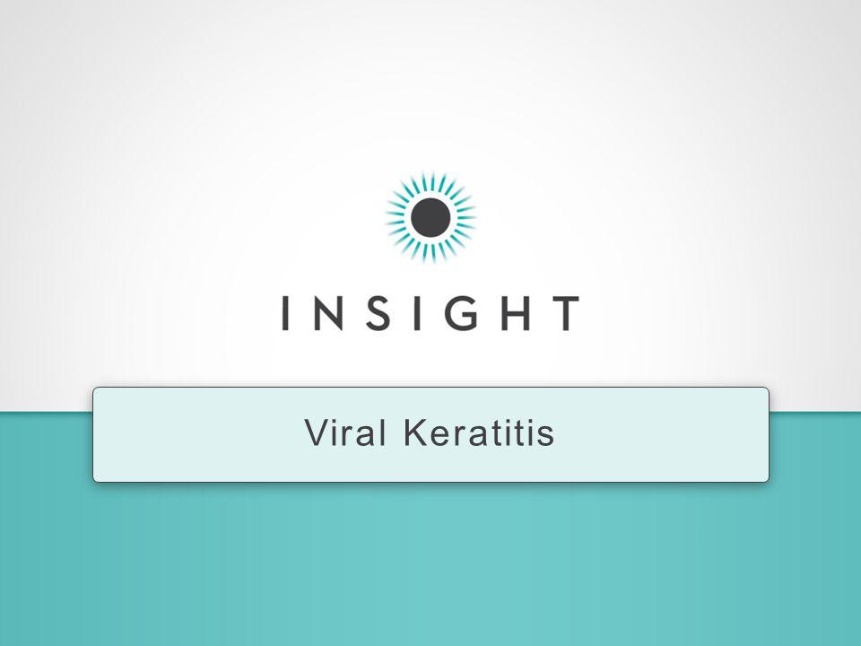 Viral Keratitis