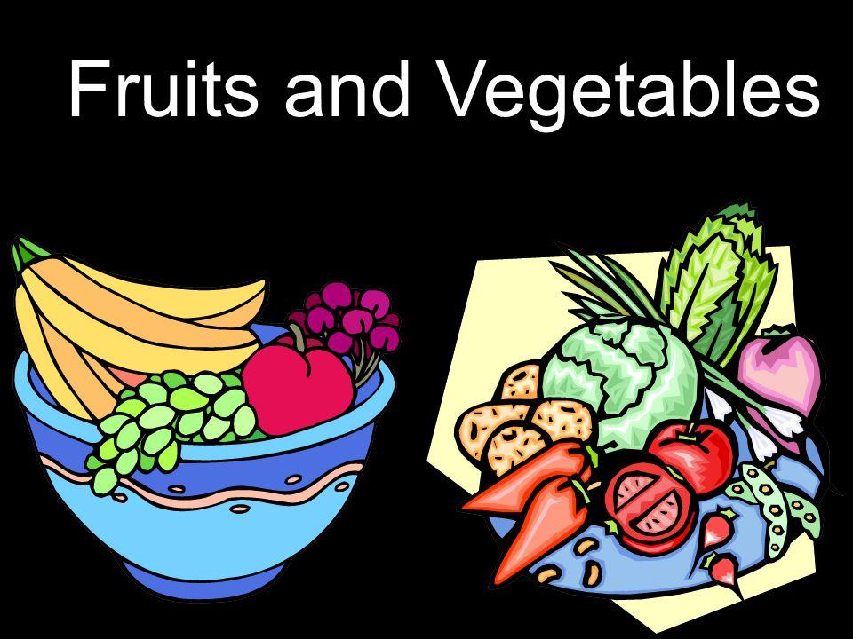 1 Fruits and Vegetables SMSD Mrs. Rohret Fruits and Vegetables