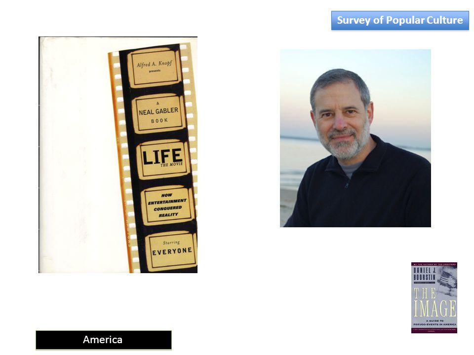 America Survey of Popular Culture