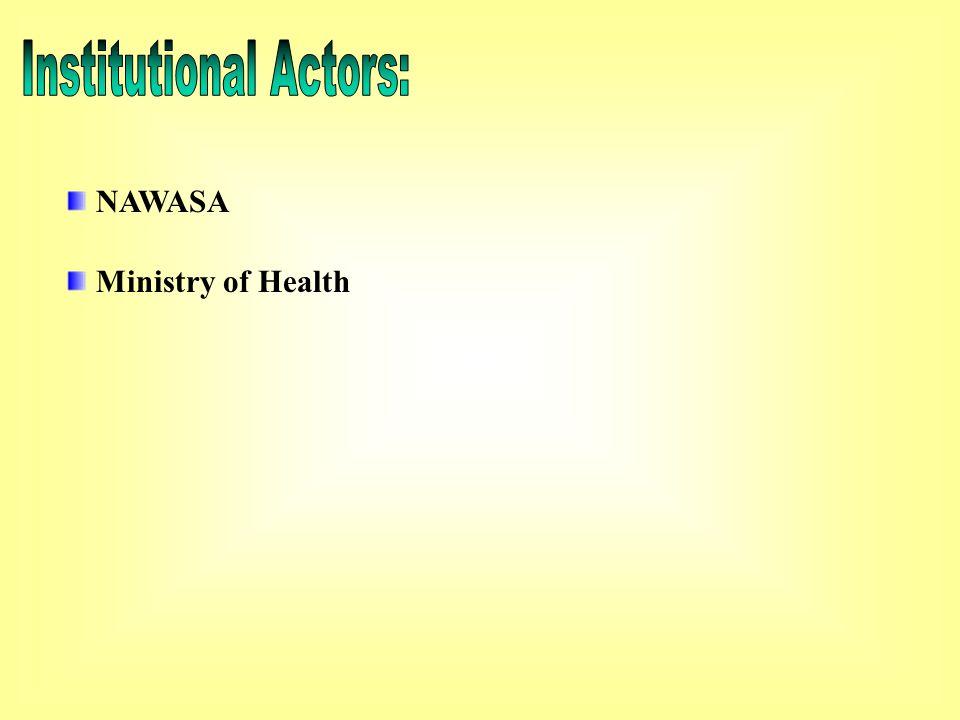 NAWASA Ministry of Health