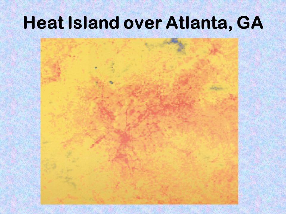 Heat Island over Atlanta, GA