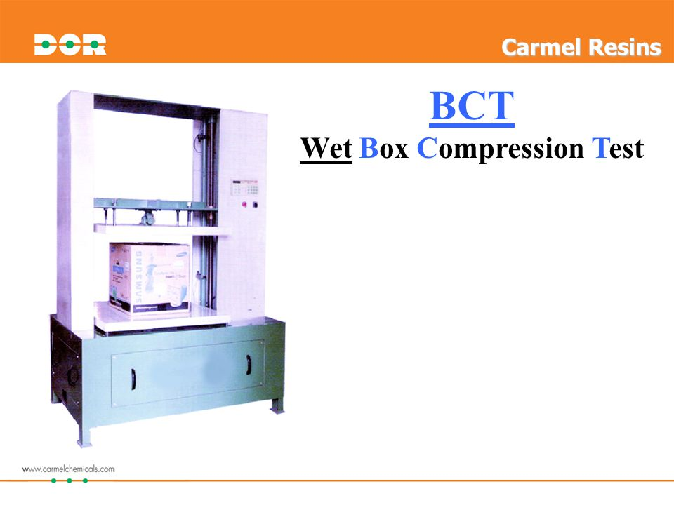 BCT Wet Box Compression Test