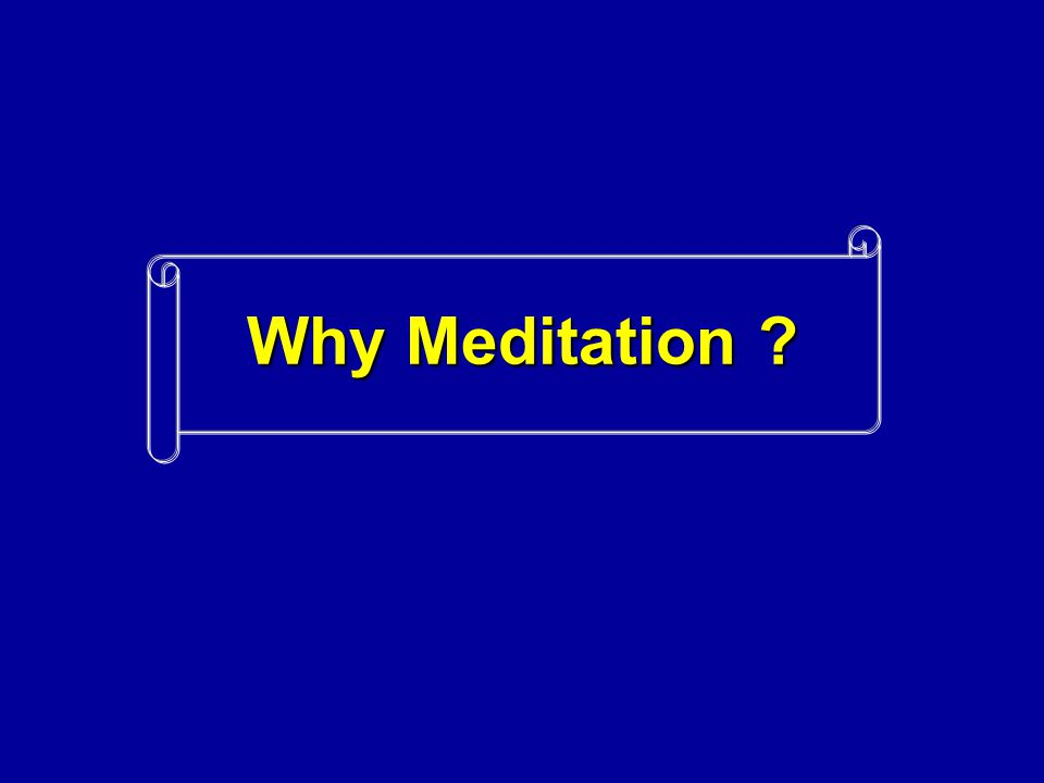 Neurochemical Effects   Meditation has been shown to increase serotonin production.
