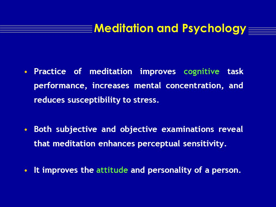 Meditation and Metabolism A wakeful state accompanied by decreased metabolism.