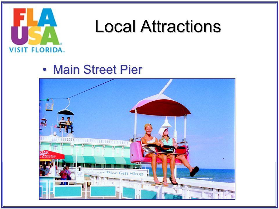 Main Street PierMain Street Pier Local Attractions